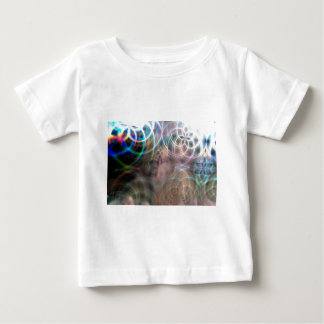 Abstract Rainbow Light Patterns Baby T-Shirt