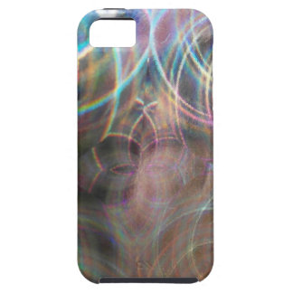 Abstract Rainbow Light Patterns iPhone 5 Cover