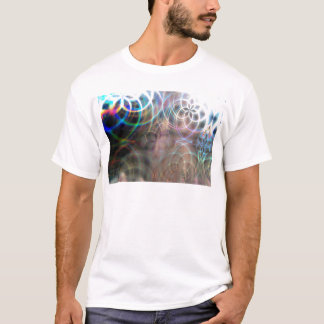Abstract Rainbow Light Patterns T-Shirt