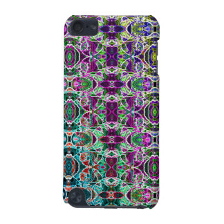 Abstract Rainbow Mandala Fractal iPod Touch 5G Cases