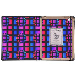 Abstract Rainbow Marble iPad Cases
