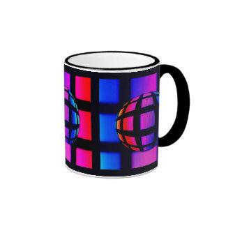 Abstract Rainbow Marble Coffee Mugs