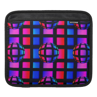 Abstract Rainbow Marble Sleeve For iPads