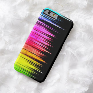 Abstract Rainbow Paint Splash iPhone 6 Case Barely There iPhone 6 Case