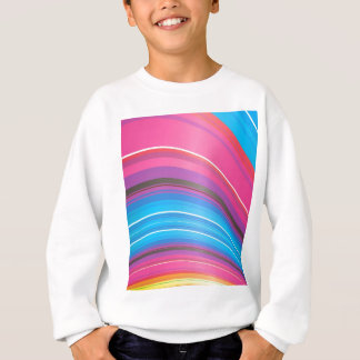 abstract rainbow ridge sweatshirt