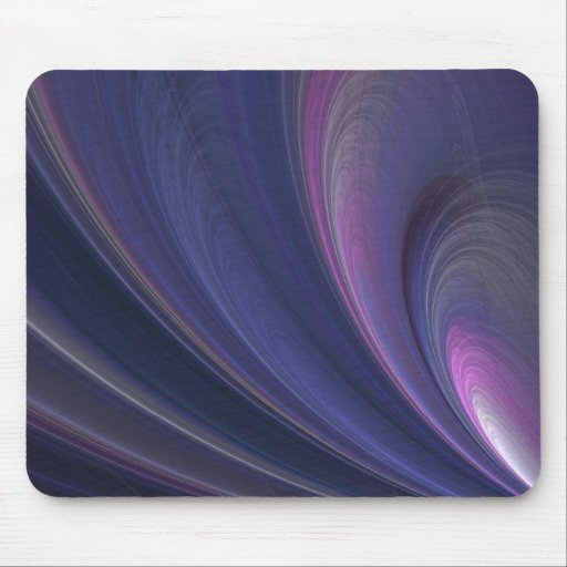 Abstract Rainbow Swirl Mouse Pad
