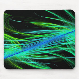 Abstract rays mousepad