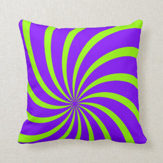 Abstract Rays Throw Pillows