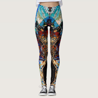 Abstract Reality | Yoga Leggings