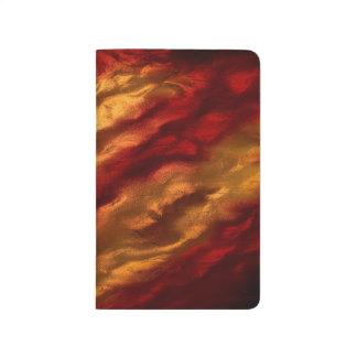 Abstract Red And Orange Texture Journal