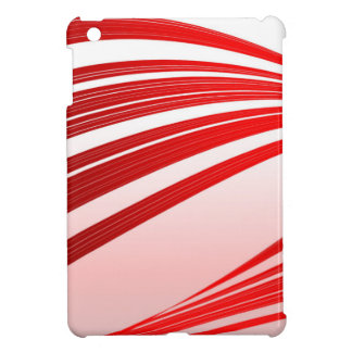 Abstract Red Background Case For The iPad Mini