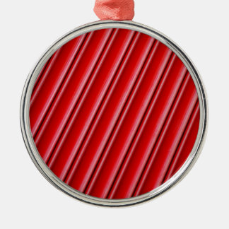 Abstract red background christmas ornament