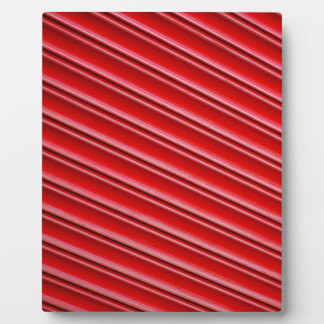 Abstract red background plaque