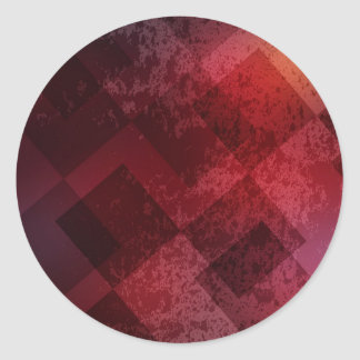 Abstract red background sticker