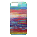 Abstract Red Colourful Phone Case