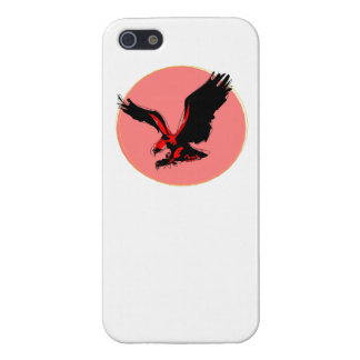 Abstract Red Eagle iPhone 5/5S Cases