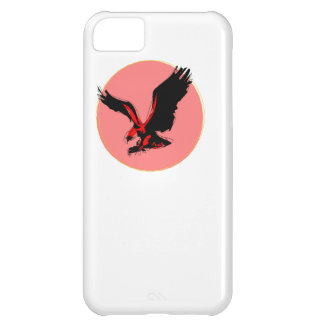Abstract Red Eagle iPhone 5C Cases