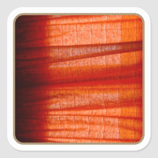 Abstract Red Fabric sticker