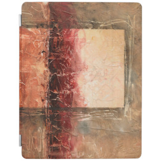 Abstract Red Landscape iPad Cover