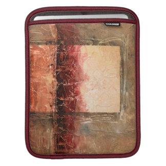 Abstract Red Landscape iPad Sleeve