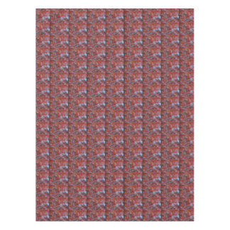 Abstract Red Maple Tablecloth
