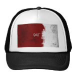 Abstract Red USSR Soviet Mesh Hat