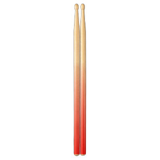 Abstract red&white drumsticks