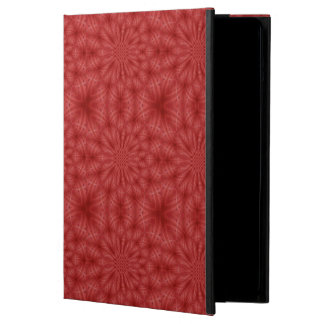 Abstract red wood pattern cover for iPad air