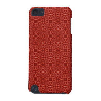 Abstract Red Wood Pattern iPod Touch 5G Cover