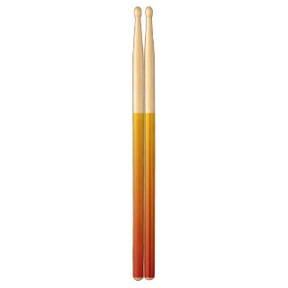 Abstract red&yellow drumsticks