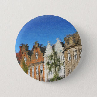 Abstract reflections 6 cm round badge