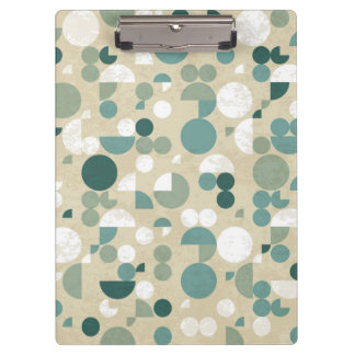 Abstract retro pattern clipboard