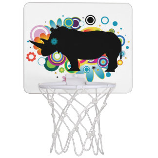Abstract Rhino Mini Basketball Goal Mini Basketball Hoop