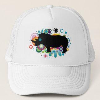 Abstract Rhino Trucker Hat