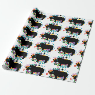 Abstract Rhino Wrapping Paper