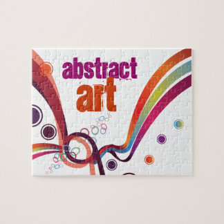 Abstract Ribbons Puzzles