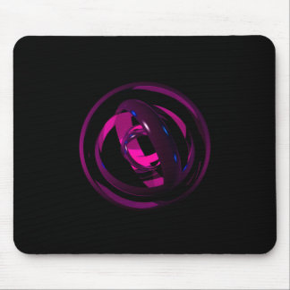 Abstract Rings Mouse Pad
