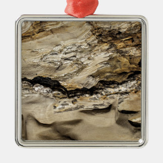 Abstract rock. christmas ornament