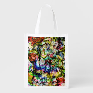 Abstract Rock Women Reusable Grocery Bag