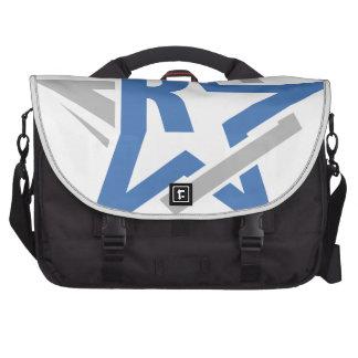 Abstract rockstar laptop bags