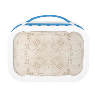 Abstract Roman Numeral Lunch Box