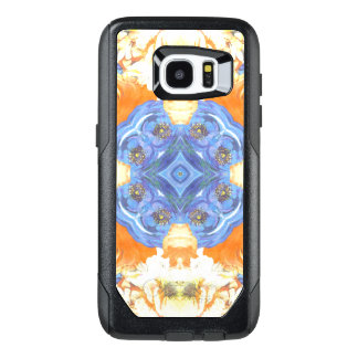 Abstract Romantic  Floral Pattern OtterBox Samsung Galaxy S7 Edge Case