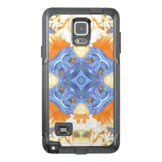 Abstract Romantic  Floral Pattern OtterBox Samsung Note 4 Case