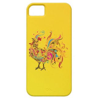 Abstract Rooster iPhone 5 Cover