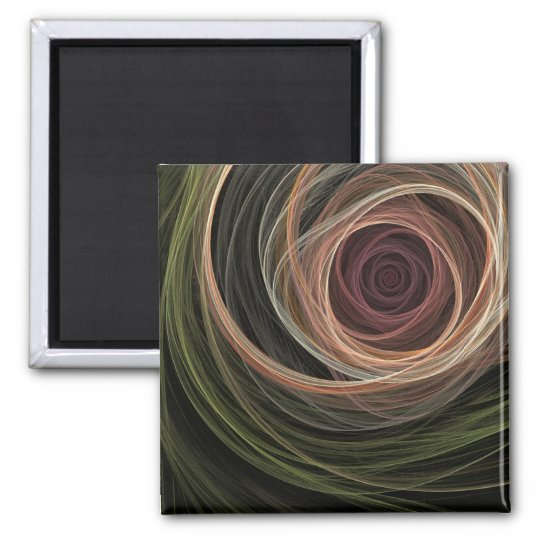 Abstract Rose magnet