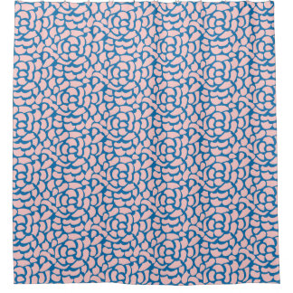 Abstract Roses - Shower Curtain