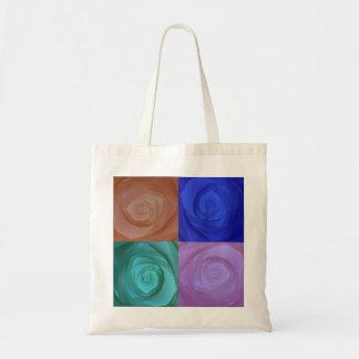Abstract Roses Budget Tote Bag
