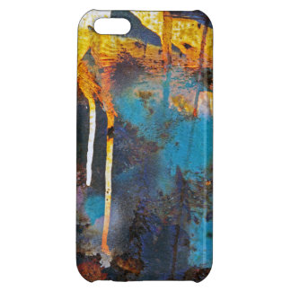 Abstract Rust iPhone 5C Cover