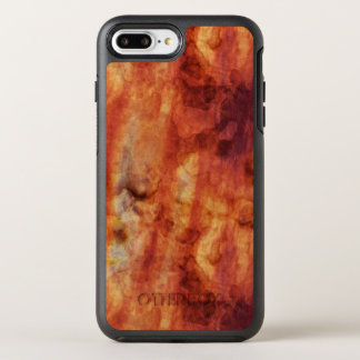 Abstract Rusty Reds and Oranges OtterBox Symmetry iPhone 7 Plus Case