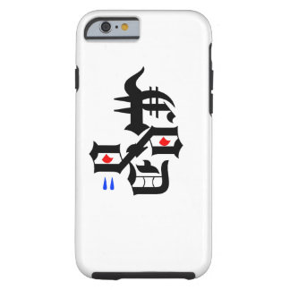 Abstract sad face tough iPhone 6 case